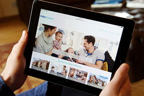 MILLER HOMES - property portal 2017